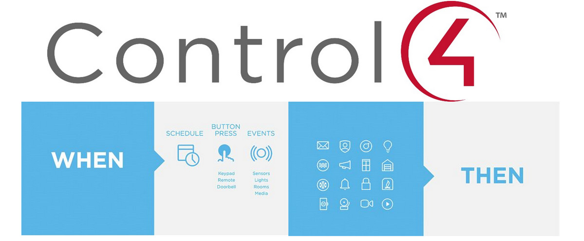 Control4 Adds If/Then Engine to Home Automation, Lets End Users Tweak System